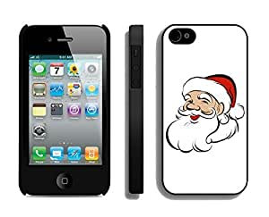 Case For Samsung Galaxy S5 Cover,Lovely Christmas Santa Grandpa Silicone Black Case For Samsung Galaxy S5 Cover