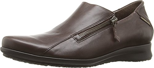 Mephisto Mujeres Faye Dark Brown Silk
