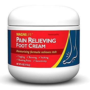 MagniLife Pain Relieving Foot Cream 4 oz/113g by MagniLife