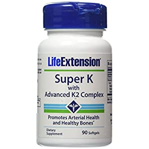 Life Extension Super K with Advanced K2 Complex (2 pck)
