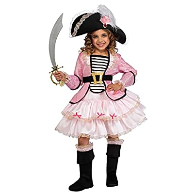 Pirate Princess Costume, Small: Toys & Games