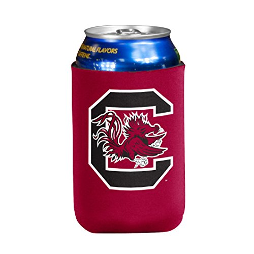 - NCAA South Carolina Fighting Gamecocks Flat Drink Coozie