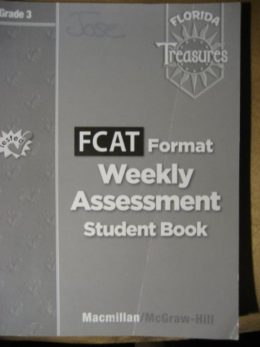 FCAT Format Weekly Assessment Grade 3 Book By Macmillan
