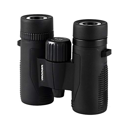 Wingspan Optics NatureScout 8X32 - Compact Binoculars for Bird Watching. Lightweight and Compact for...