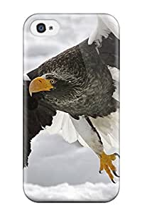 Hot Tpu Cover Case For Iphone/ 4/4s Case Cover Skin - Stellers Sea Eagle