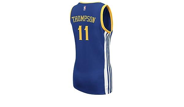 adidas klay Thompson Golden State Warriors Réplica de la mujer azul Jersey: Amazon.es: Deportes y aire libre