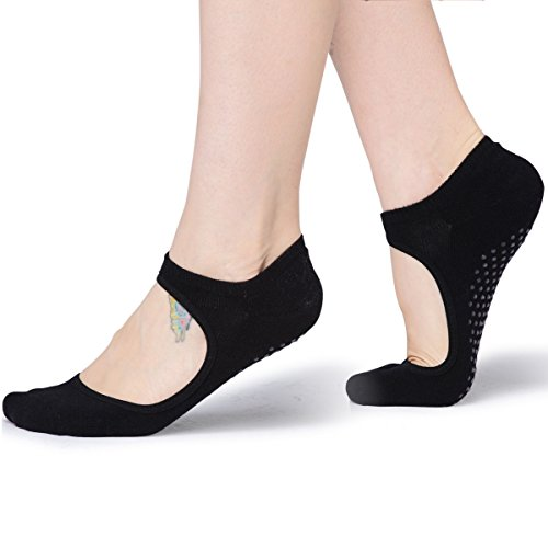 Womens Socks Pilates Ballet Cotton