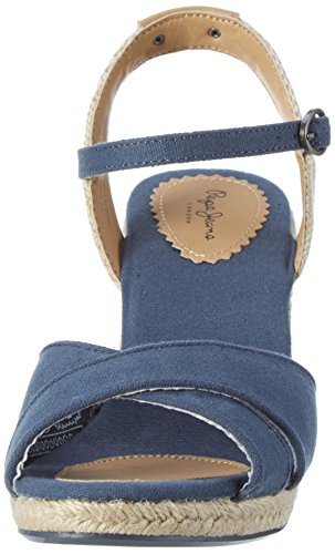 Azul Pepe para Jeans SAILOR Shark Mujer London Sandalias Basic vOqv1