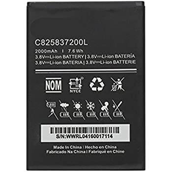 UoUo New Replacement C825837200L Battery For BLU Neo X N070 Rechargeable Battery 2000mAh 3.8V