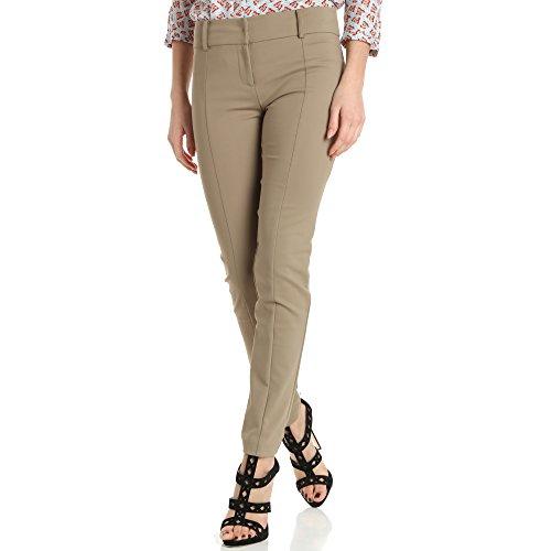 Beige Coton Pantalon En Middle Technic 8OxIqa