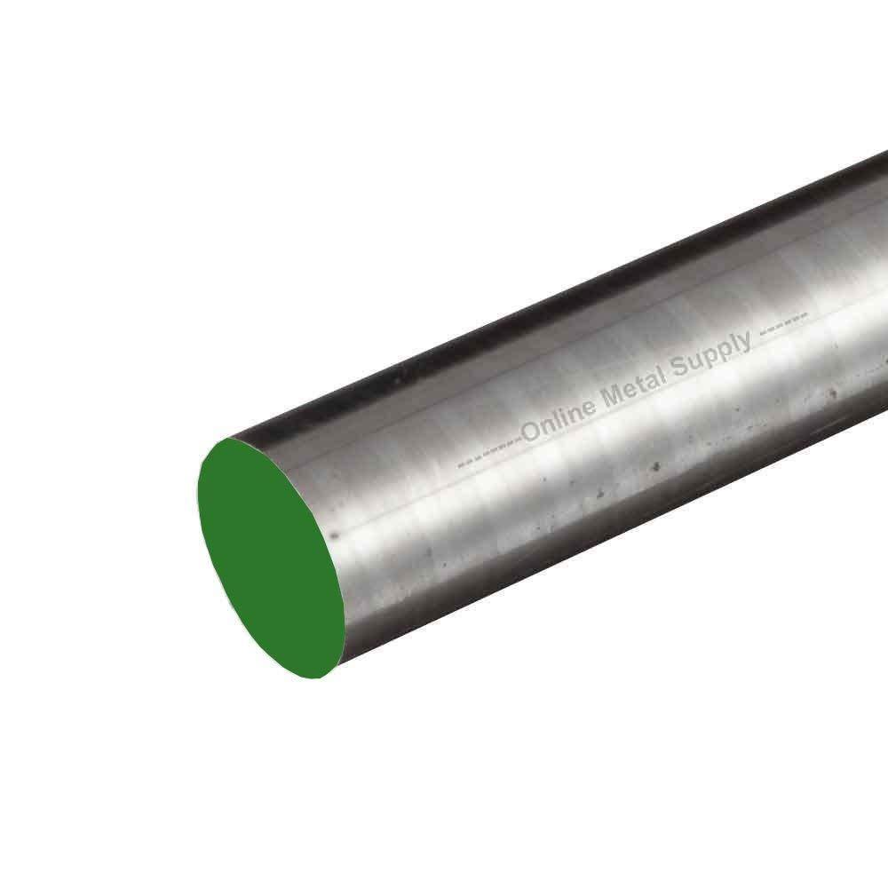 Online Metal Supply 1018 CF Steel Round Rod, 2.000 (2 inch) x 48 inches by Online Metal Supply