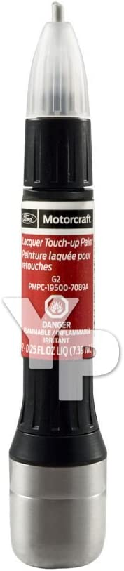 Genuine Ford Motorcraft Touch Up Paint Bottle Red G2 7089 Redfire & Clear Coat