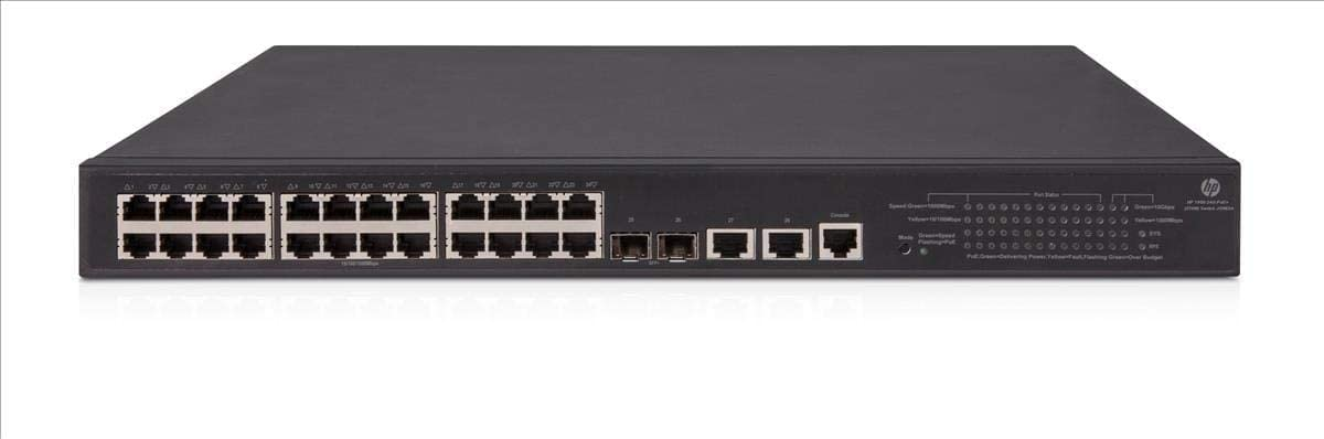 HP 1950-24G-2SFP+-2XGT-PoE+(370W) Switch JG962A#ABA