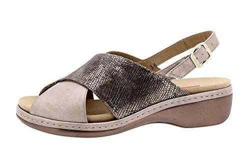 Visón confort femme Chaussure amovible en semelle Piesanto sandale cuir amples confortables 8814 qPROSR