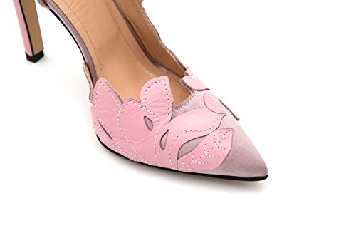 BARIO DECOLTE LEATHER HIGH HEELS 40 WOMAN PUMPS PINKO Y2CM SHOES SATIN ROSA PINK CODE 1U202C qHAxCwpP