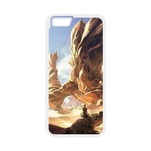 Desiertos Fantasy Art L iPhone 6 4.7 pulgadas del teléfono celular funda blanca del teléfono celular Funda Cubierta EEECBCAAB07765