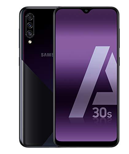 Samsung Galaxy A30s – Smartphone de 6.4″ Super AMOLED (4 GB RAM, 128 GB ROM) negro [Versión española]