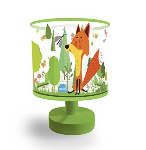 Night Light for Kids, Marmelada Lights, 3D Mini Lampshade Story Series Forest Fox, LED Bedside Kids, Baby, Children Night Lamp Bookshelf, Tabletop, Battery operated 2 months runtime. by Marmelada Lights