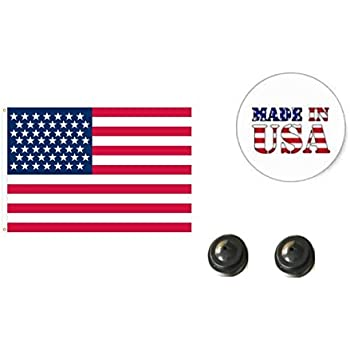 1 American and 1 Massachusetts 4x6 Miniature Desk /& Table Flag Made in The USA Includes 2 Flag Stands /& 2 Small Mini Stick Flags