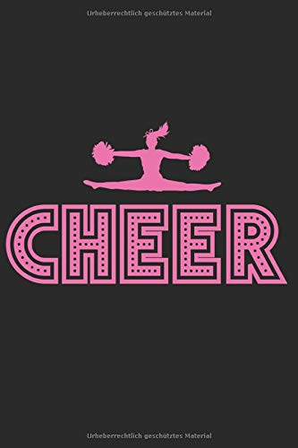Notizbuch: Cheerleading Notizheft A5 liniert I Cheerleader Geschenk Notebook I Tagebuch oder Journal für Mädchen und Frauen por Cheerleading Publishing