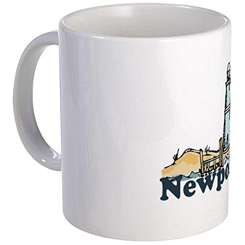 CafePress - Newport Beach RI - Lighthouse Design Mug - Unique Coffee Mug, Coffee Cup