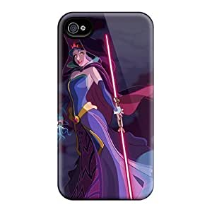 DiyPhoneDiy Disney Series Phone Case For Iphone 6 Cover over, Disney Princess For Iphone 6 Cover