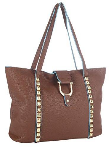 Femme Fatale Women's Shoulder Bag (Multi) (FFBASS1582)