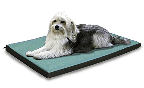 FurHaven NAP Reversible Two-Tone Pet Bed Crate or Kennel Pad Dog Bed, Water-resistant Outdoor Indoor