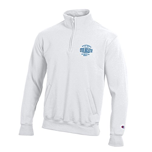 Champion NCAA Kentucky Wildcats Men's All-Around Fleece 1/4 Zip Jacket, Large, White ()