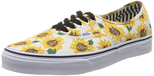 Vans Unisex-Erwachsene Authentic Low-Top Mehrfarbig ((Sunflower) tru FN0)