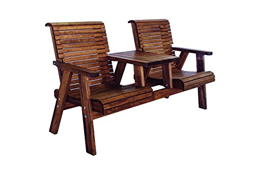 Quality Lowback Outdoor Patio Settee