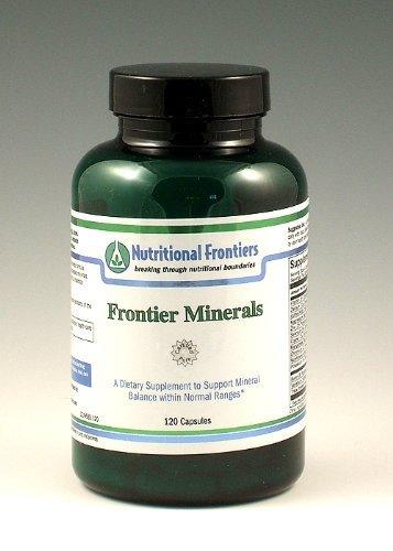 Nutritional Frontiers – Frontier Minerals – 120 Vegetarian Capsules