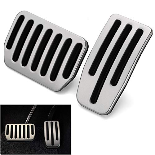 Model 3 Performance Pedal Set, Auto Aluminum Foot Pedal Pads Pedal Covers for Tesla Model 3