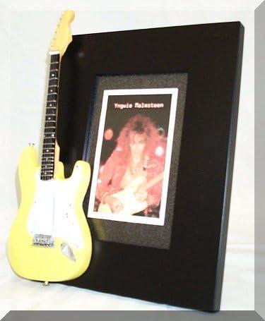 YNGWIE MALMSTEEN miniatura Marco de la guitarra Imagen