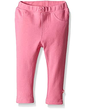 Girls' Primary Solid Stretch Knit Jegging