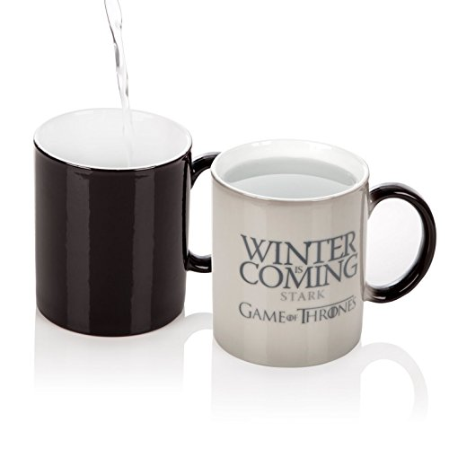 game thrones winter coming magic mug