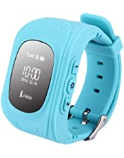 Sausiry Q50 Kids Anti-Lost Smartwatch-Blue
