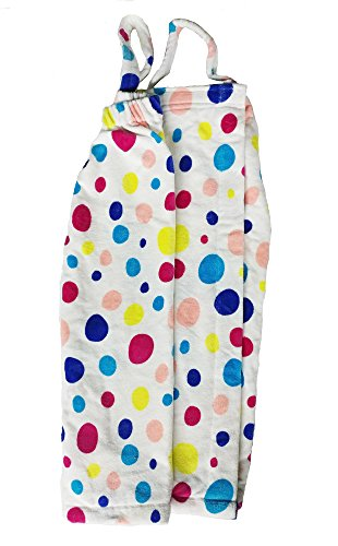 byLora Terry Cotton Girls Cover up, Multi-Color, (Sheared Cotton)