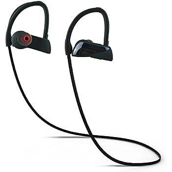 Geman Bluetooth Headphones Wireless Earbuds Sports U12 Earphones IPX7 Waterproof HD Stereo Sweatproof Earbuds Noise Cancelling