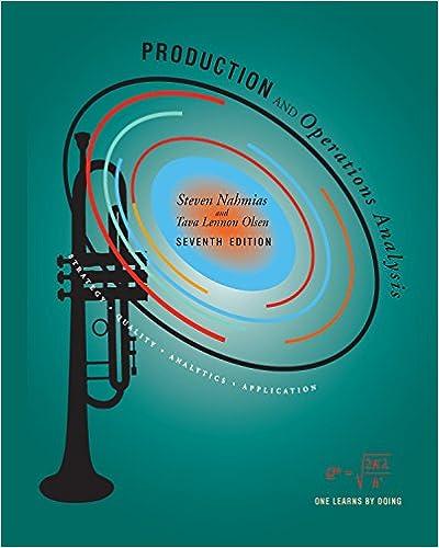 Production and Operations Analysis, Steven Nahmias, Tava Lennon ...