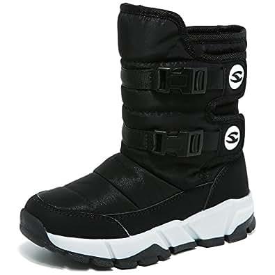 Amazon.com | GUBARUN Boys Snow Boots Winter Waterproof