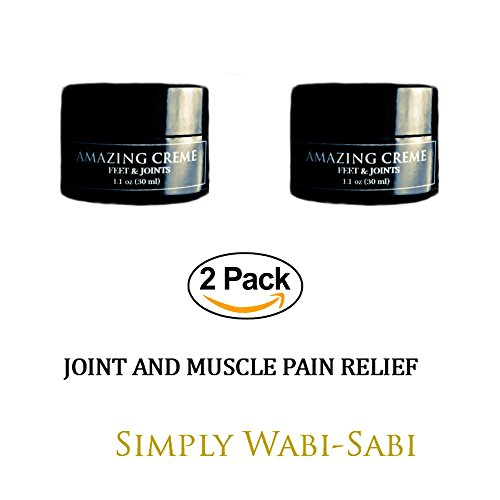 (Amazing Cream Organic Foot Lotion Topical Pain Reliever Anti inflammatory Helps Heal Dead Skin Relieve Joint and Muscle Pain Smooth Dry Rough Skin Cuticles of Feet and Toes Bundle Value Pack (2 Pack))