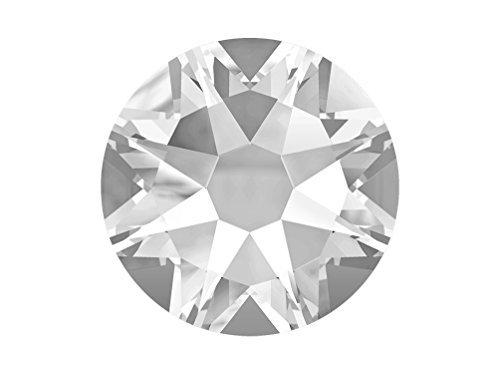 Swarovski Elements 2078 Xirius Hotfix Flatbacks SS34 Crystal Clear 1 gross (144) HF Rhinestones Factory (2028 Flat Back Ss34 Crystal)