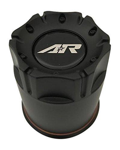 Black American Racing (American Racing Wheels 1327006016 Black Wheel Center Cap)