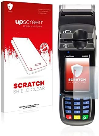 upscreen Scratch Shield Clear Screen Protector for Ingenico H5000 Multitouch Optimized Strong Scratch Protection High Transparency