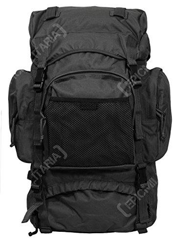 Mil-Tec Trekking Rucksack Commando, schwarz
