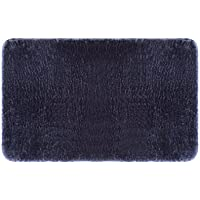 Soft & Plush Cozy Pure Color Shag Area Rug Children Play Carpet Non-slip Mat with Multiple Sizes (19.7x31.5, Bluish grey)