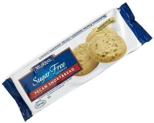 (Murray, Sugar Free Cookies, Pecan Shortbread, 5.5-Ounce Package (Pack of 4))