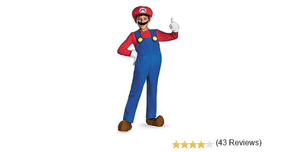 Nintendo - Disfraz infantil mario, talla S (4 - 6 años): Amazon.es ...