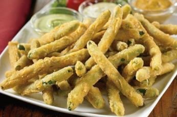 Harvest Creations Dipt'N Dusted Zesty Green Beans 2 lb, Pack of 6 by Harvets Creations (Image #1)